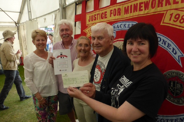 Justice for miners cheque 3
