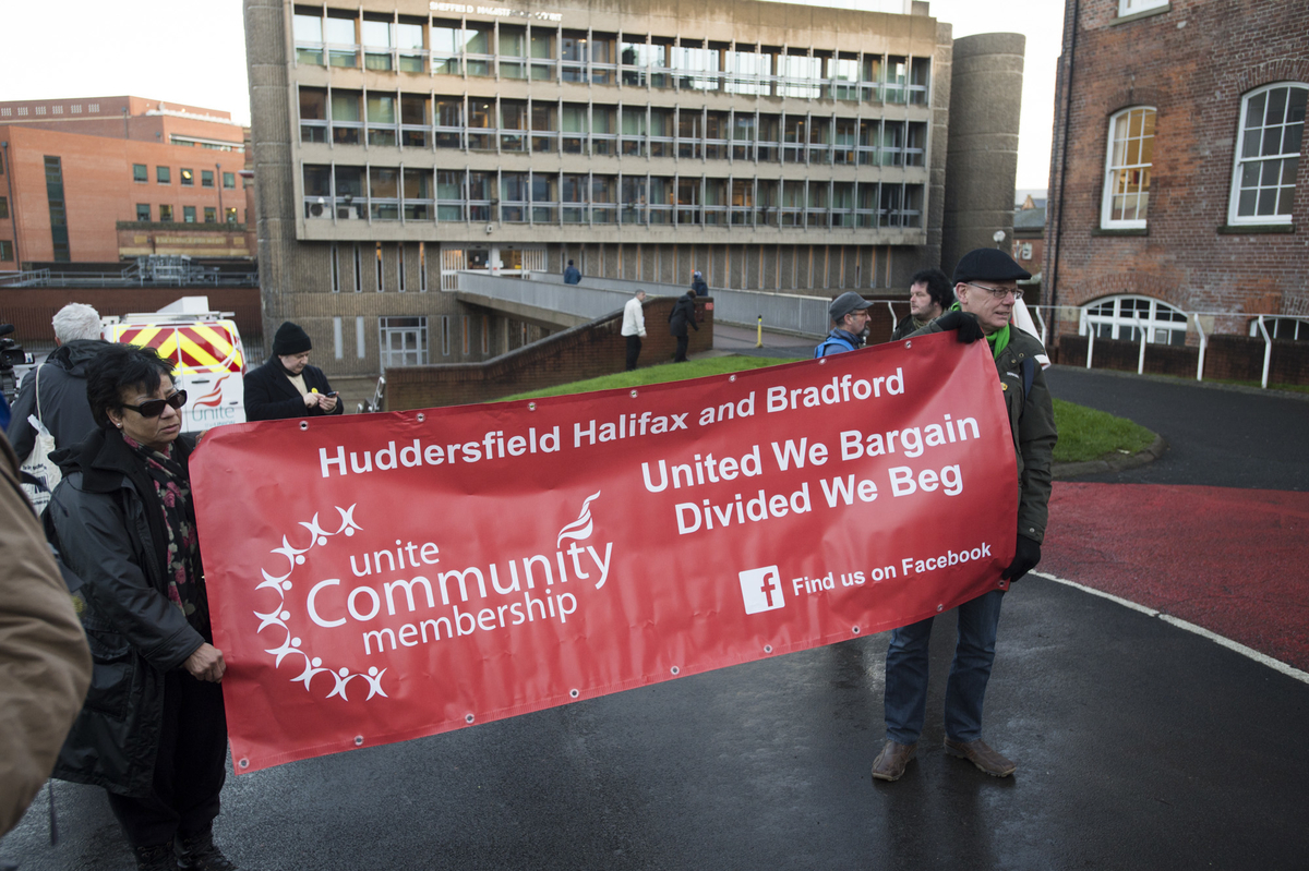 Freedom Riders victory rally, Sheffield