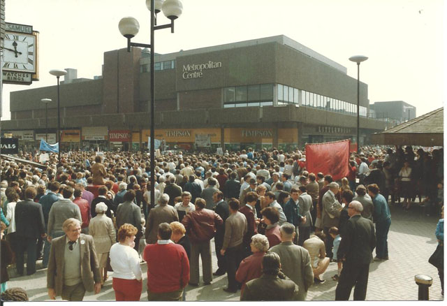 Barnsley May Day 1984