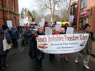 O Freedom Ride march in York 2 small