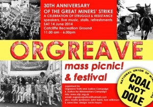 Orgreave Mass Picnic and Festival