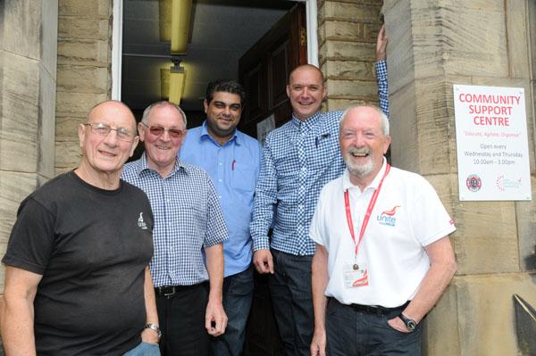 Barnsley Unite CSC Staff