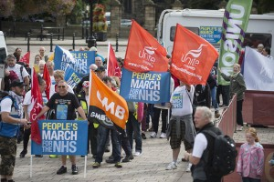 People's March for the NHS, Darlington
