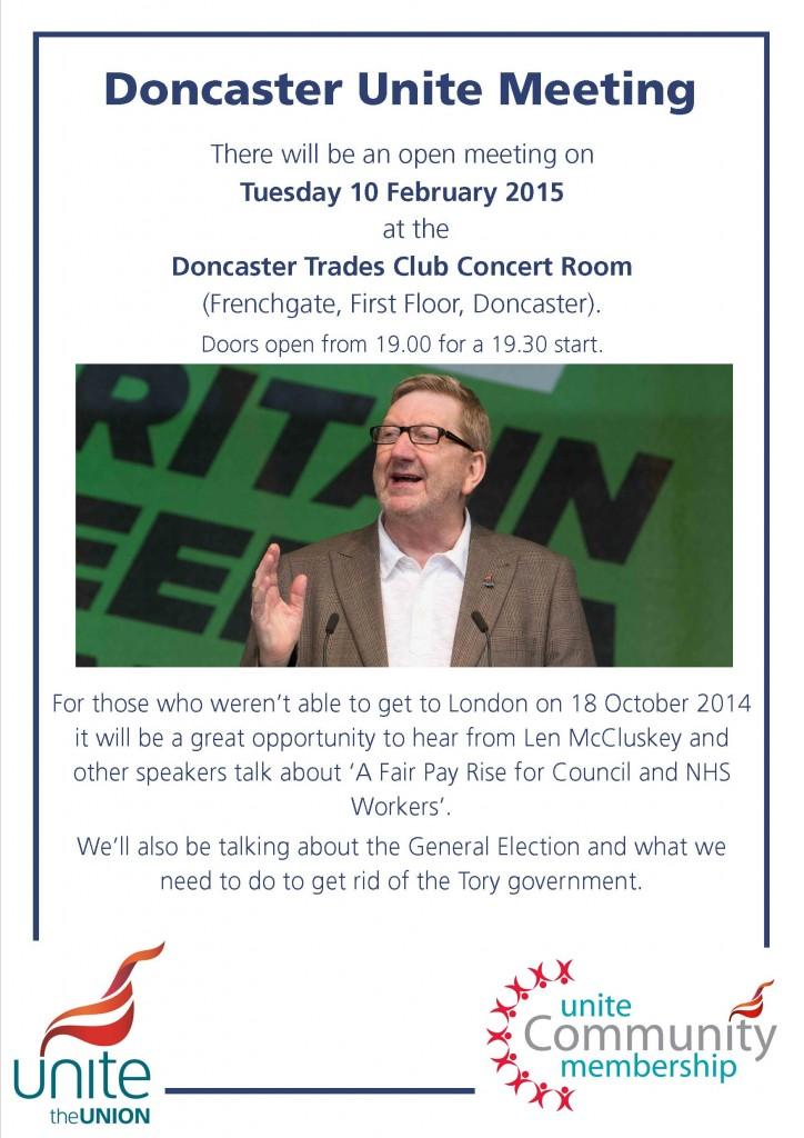 Doncaster Unite Meeting
